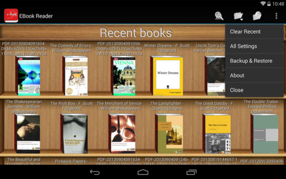 12 excelentes aplicaciones Android para leer libros